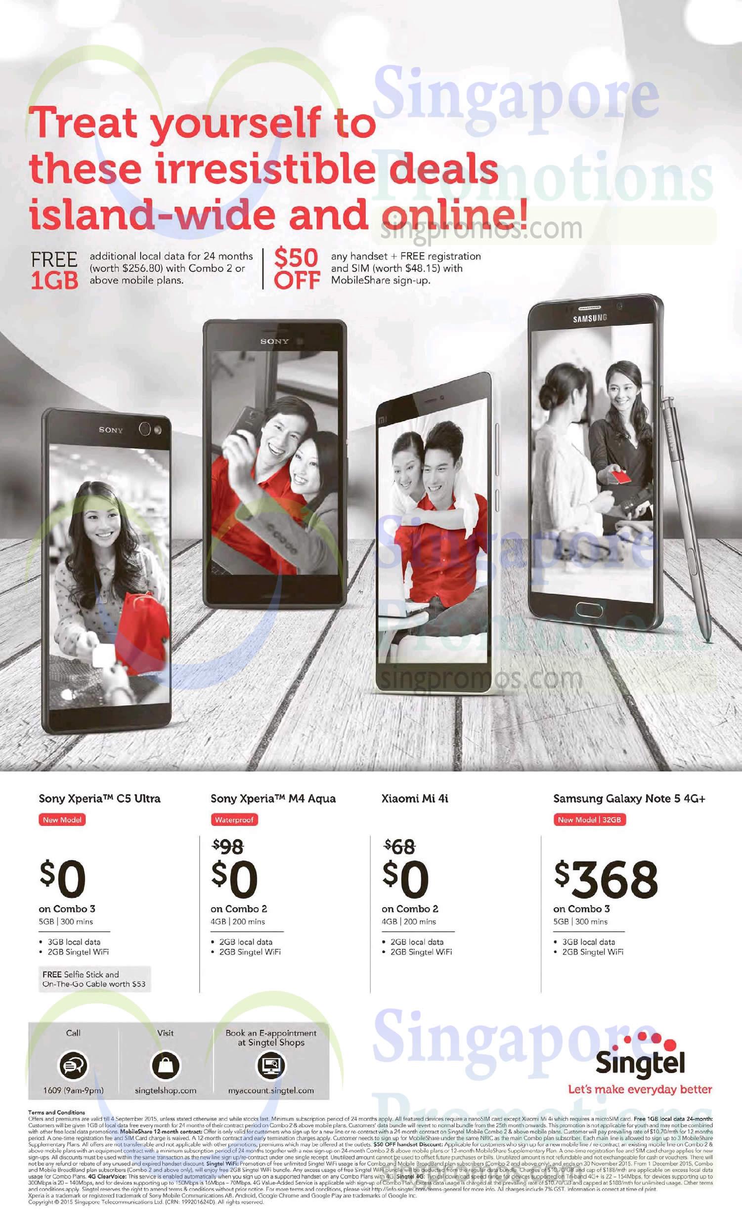 Sony Xperia C5 Ultra Xperia M4 Aqua Xiaomi Mi 4i