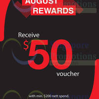Starthreesixty Spend $200 & Get $50 Voucher 28 Aug 2015