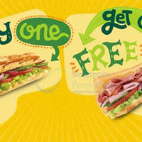 Read more about Subway 1-for-1 (Buy One Get One FREE) Promo @ Islandwide 27 Aug 2015