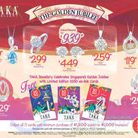 Taka Jewellery Spend & Redeem SG50 EZ-Link Cards 3 Aug 2015