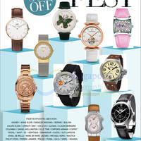 Read more about Takashimaya Watch Fest Up To 50% Off 14 - 25 Aug 2015