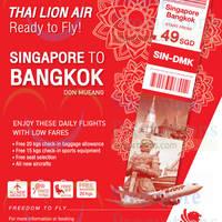 Read more about Thai Lion Air fr $49 Flights to Bangkok 18 Aug 2015