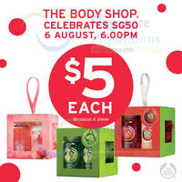 Read more about The Body Shop $5 Gift Cubes Promo 6 - 10 Aug 2015