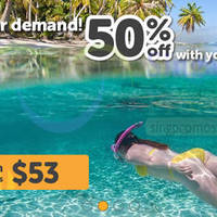 Read more about TigerAir 50% OFF Fares For NTUC Plus Members 24 - 26 Aug 2015
