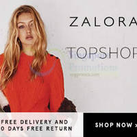 Read more about Topshop Fashion Available @ Zalora From 14 Aug 2015