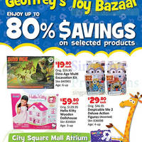 "Read more about Toys ""R"" Us Geoffrey's Toy Bazaar @ City Square Mall 21 - 23 Aug 2015"