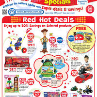 "Toys ""R"" Us National Day Specials 1 - 24 Aug 2015"
