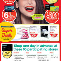 Watsons 1-Day Up To 50% Off Sale @ 63 Stores 2 Sep 2015