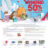 Read more about Vivocity 50% Sale Jubilee Weekend 6 - 10 Aug 2015