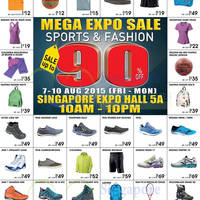 World of Sports, Bread & Butter Mega Expo Sale @ Expo 7 - 10 Aug 2015