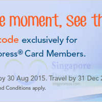 Read more about Zuji Singapore 13% OFF Hotels Coupon Code (NO Min Spend) For AMEX Cardmembers 19 - 30 Aug 2015