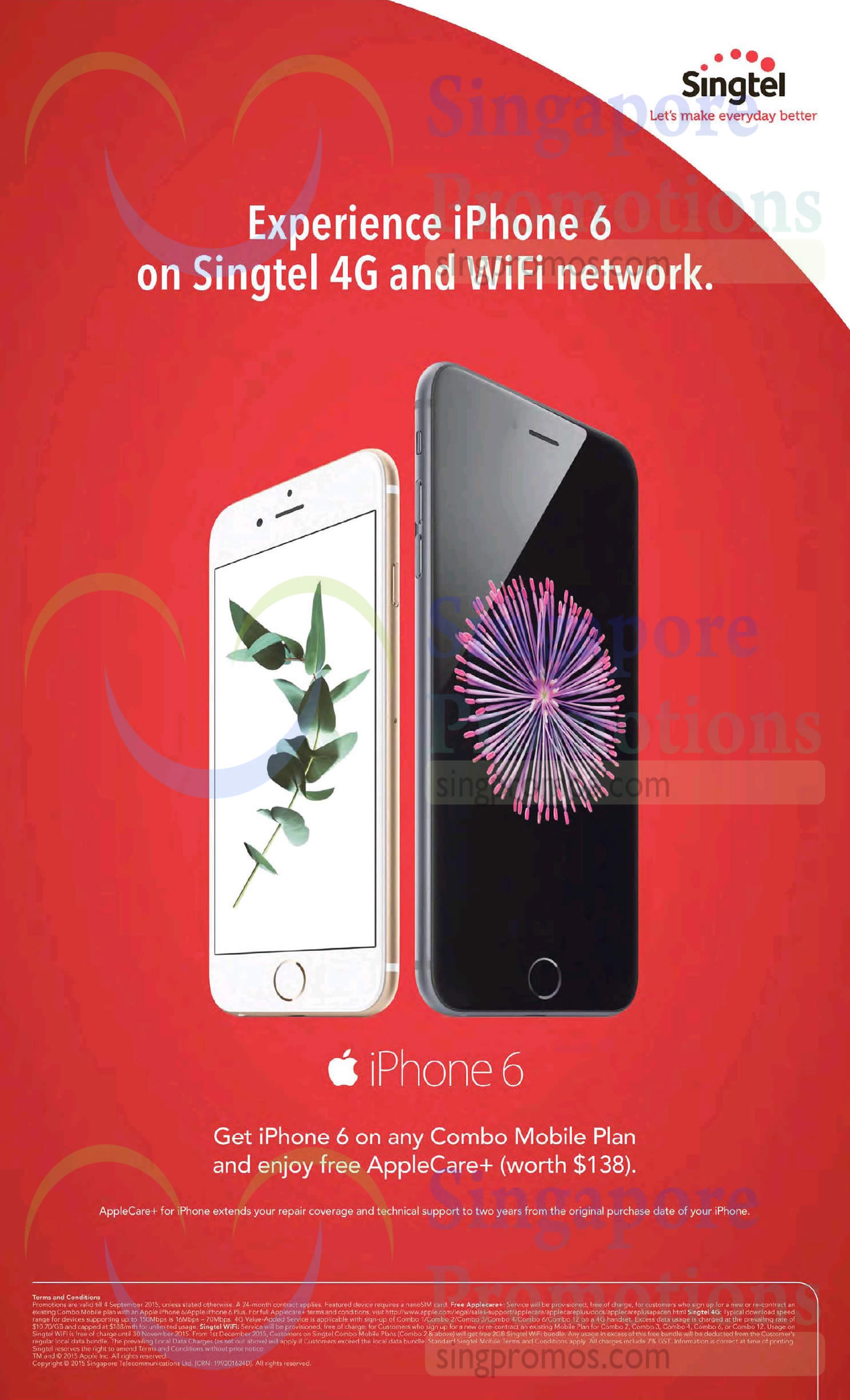 iPhone 6 Combo Mobile Plan