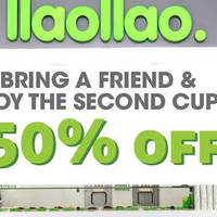 Read more about llaollao 50% Off 2nd Item @ Suntec City 26 Aug - 31 Oct 2015