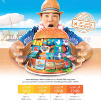 Read more about M1 Home Broadband, Mobile & Other Offers 22 - 28 Aug 2015