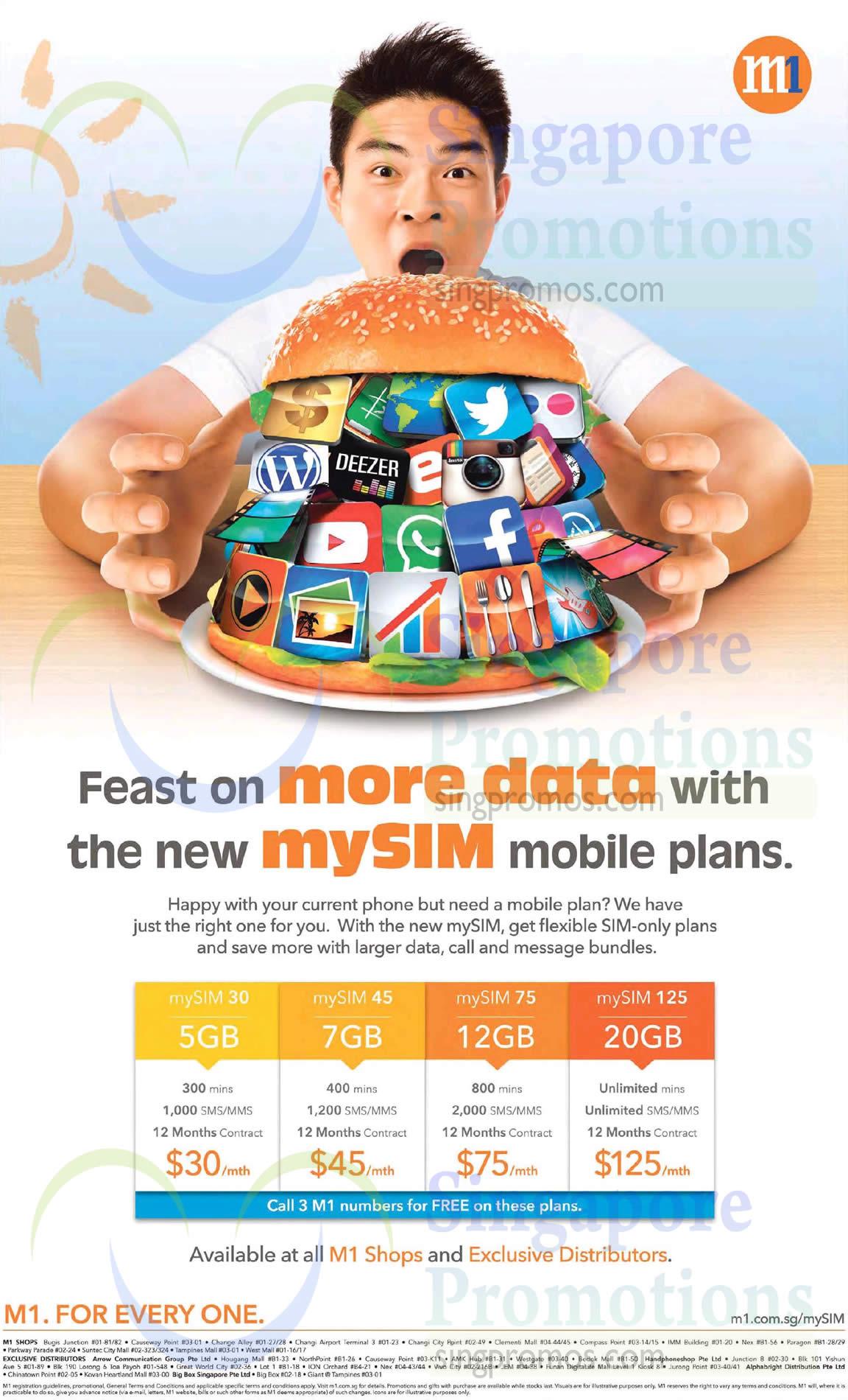 mySIM Mobile Plans