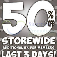 Read more about World Of Sports 50% Off Storewide Sale @ Selected Outlets 5 - 20 Sep 2015