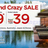 Read more about Air Asia Go fr $39 Hotel Deals & $129 Return Flight + 2N Stay + Taxes Promo 28 Sep - 4 Oct 2015