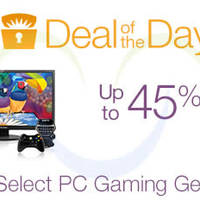 Amazon Up To 45% OFF Gaming Gear 24hr Promo 1 - 2 Sep 2015