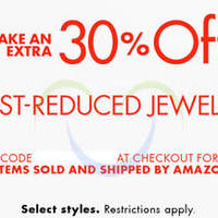 Read more about Amazon.com 30% OFF Jewellery (NO Min Spend) Coupon Code 17 - 25 Sep 2015