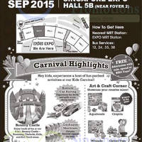 BHG Expo Carnival @ Singapore Expo 3 - 6 Sep 2015