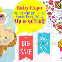 Read more about Baby Expo Fair @ Singapore Expo 25 - 27 Sep 2015