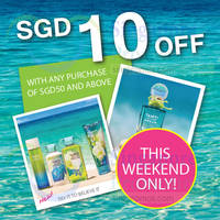 Read more about Bath & Body Works $10 Off Promo 19 - 20 Sep 2015