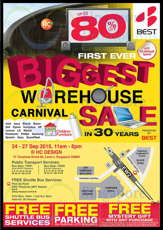 Best Denki Warehouse Sale 22 Sep 2015