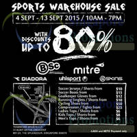 Read more about Branded Sports Warehouse Sale @ The Splendour 11 - 13 Sep 2015