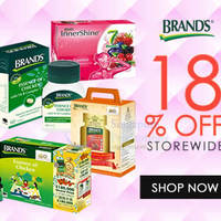 Read more about Brand's Health Tonics 18% OFF Coupon Code 16 - 21 Sep 2015