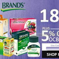 Brand's Health Drinks 18% OFF 1-Day Coupon Code 3 Sep 2015
