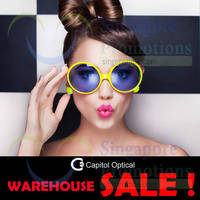 Read more about Capitol Optical Warehouse Sale 1 - 4 Oct 2015