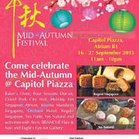 Read more about Capitol Piazza Mid-Autumn Mooncake Fair 19 - 27 Sep 2015