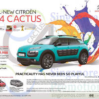 Read more about Citroen C4 Cactus, C4 Picasso & Grand C4 Picasso Offers 26 Sep 2015