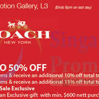 Read more about Coach Private Sale @ Isetan Scotts 18 - 25 Sep 2015