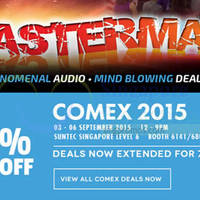 Read more about Creative COMEX Deals Extended 8 - 13 Sep 2015