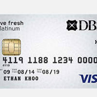 Read more about DBS Live Fresh Card Apply & Get $80 Cashback 20 Sep - 31 Dec 2015