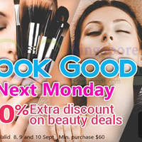 Read more about Deal.com.sg Ensogo 30% OFF $60 Min Spend Beauty Deals Coupon Code 8 - 10 Sep 2015
