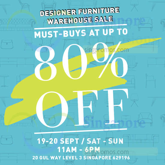 Proof Living Designer Furniture Warehouse Sale 19 20 Sep