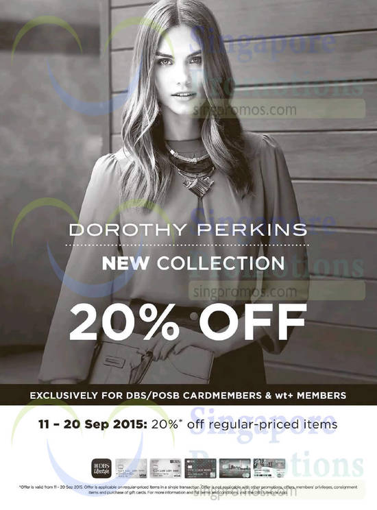 Go online to Dorothy Perkins* and you'll find discounts of up to 70% off (boosted from up to 50% off) in its summer sale. The sale's also on in stores (find your nearest*).Delivery's £ or free if you click and collect in store. We've asked Dorothy Perkins the end date to this sale who has yet to confirm.