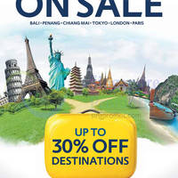 Read more about Expedia Up To 30% Off World On Sale 12 - 29 Sep 2015