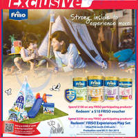 Read more about Friso Free $10 Voucher & Play Set Promotion @ Fairprice 11 Sep - 31 Oct 2015