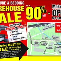 Read more about Harvey Norman Furniture & Bedding Warehouse Sale 24 - 27 Sep 2015