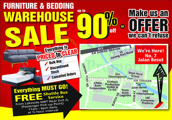 Harvey norman furniture bedding warehouse sale 24 27 for Furniture warehouse sale