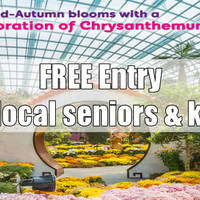 Read more about Gardens by the Bay FREE Admission For Kids & Seniors 25 Sep - 4 Oct 2015