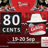 Read more about Gelare 80c Single Scoop Ice Cream Promotion @ Suntec 19 - 20 Sep 2015