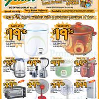 Giant Hypermarket Powerpac Appliances Offers 5 - 17 Sep 2015