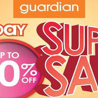 Read more about Guardian Up To 80% Off 1-Day Super Sale @ 62 Outlets 30 Sep 2015