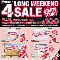 Read more about Courts Long Weekend 4 Days Sale 11 - 14 Sep 2015