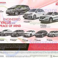Read more about Honda Odyssey, Mobilio, HR-V, Accord, 2015 CR-V, Civic, City & Jazz Offers 26 Sep 2015