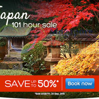 Read more about Hotels.Com Up To 50% Off Japan 101 Hour Sale 22 - 25 Sep 2015